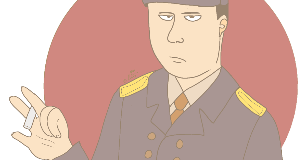 @bella_arts_lol's cover photo for 'Drawing of a Soviet Soldier'