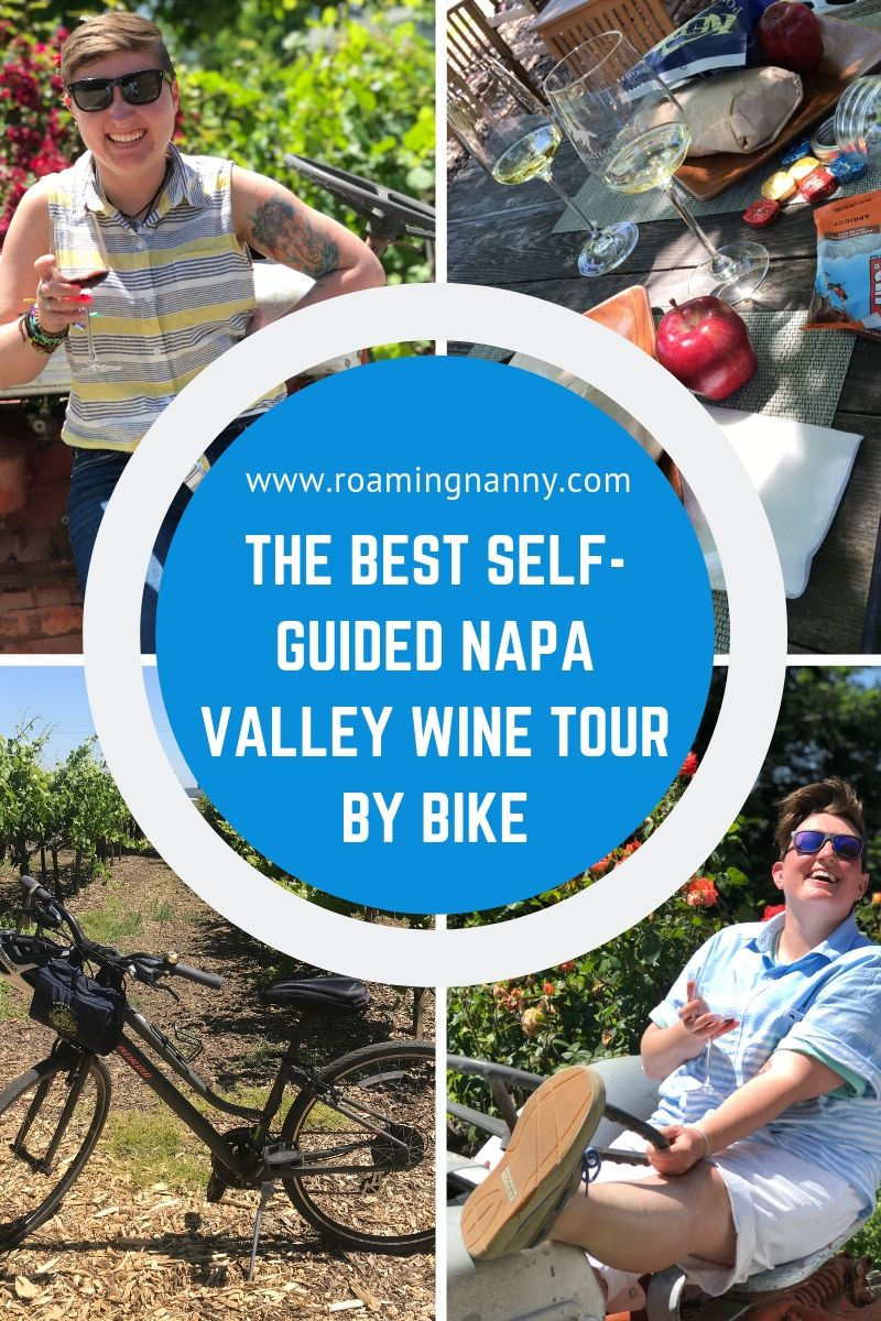 @roamingnanny's cover photo for 'The Best Self-Guided Napa Valley Wine Tour by Bike'