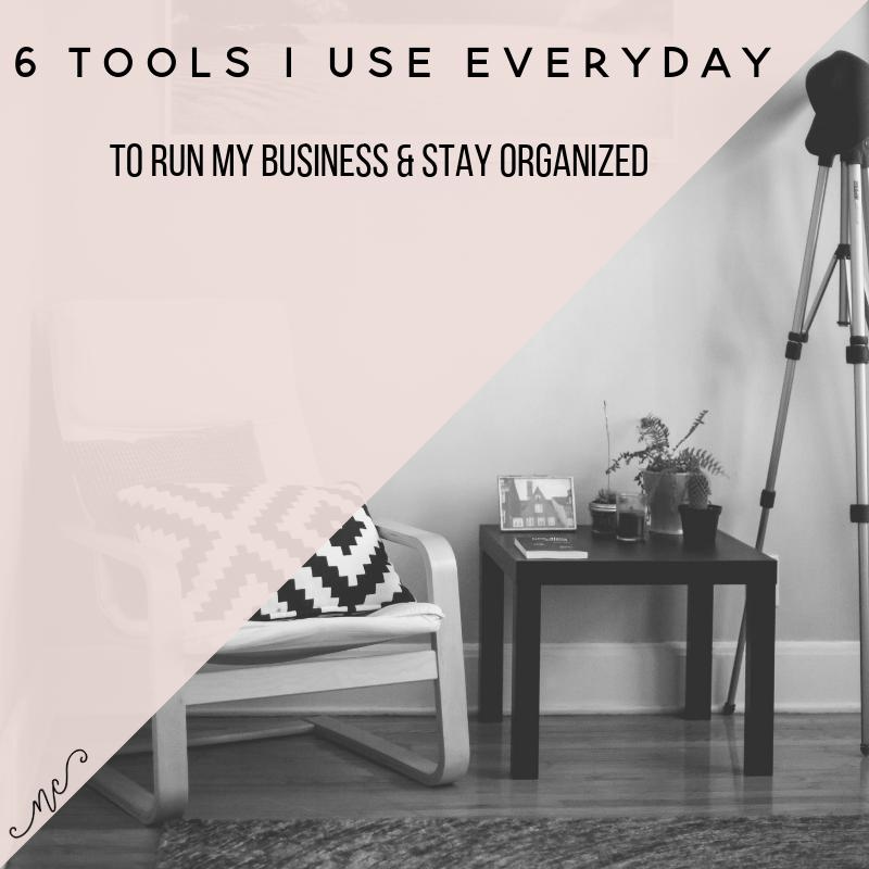 @noraconradcom's cover photo for '6 Tools that I use Everyday for Business — Nora Conrad'