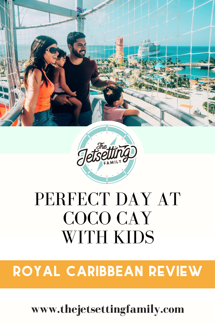 @thejetsettingfamily's cover photo for 'Perfect Day at Coco Cay with Kids'