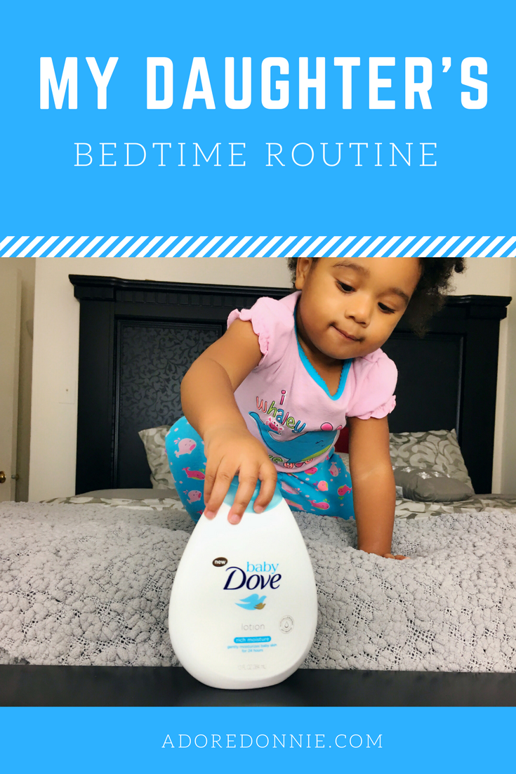 @adoredonnie's cover photo for 'My Daughter's Bedtime Routine — Adore Donnie'