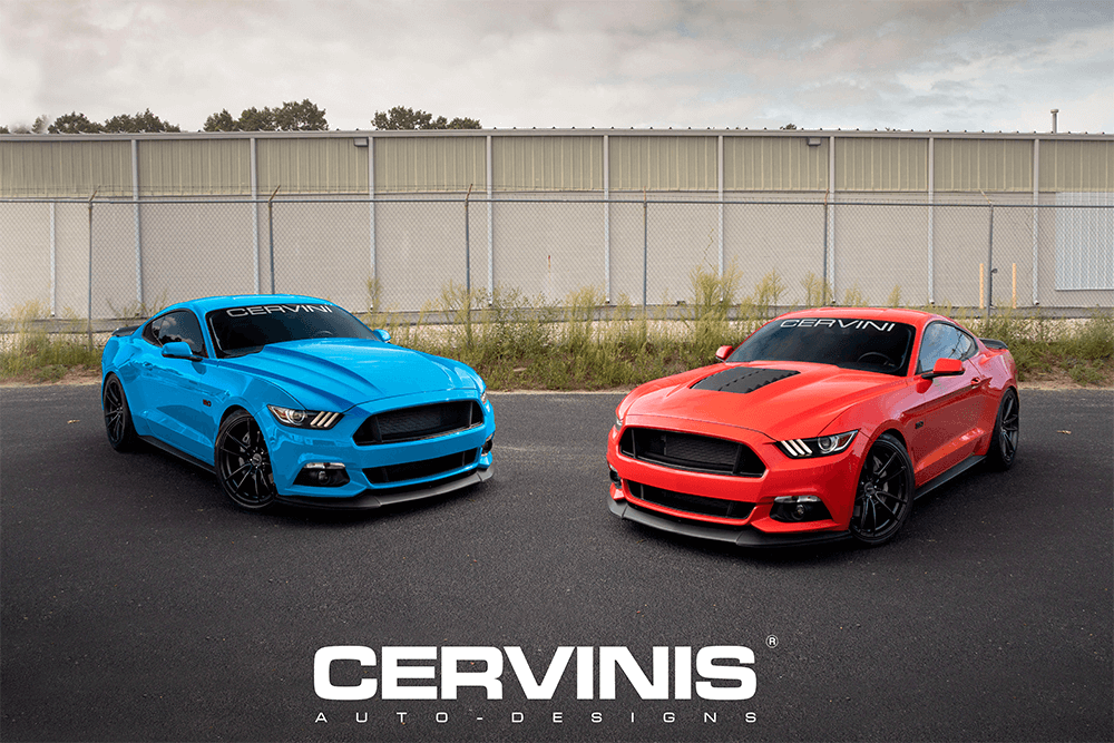 @mustangfanclub's cover photo for 'Cervinis Auto Designs unveils two new aftermarket Mustang hoods!'
