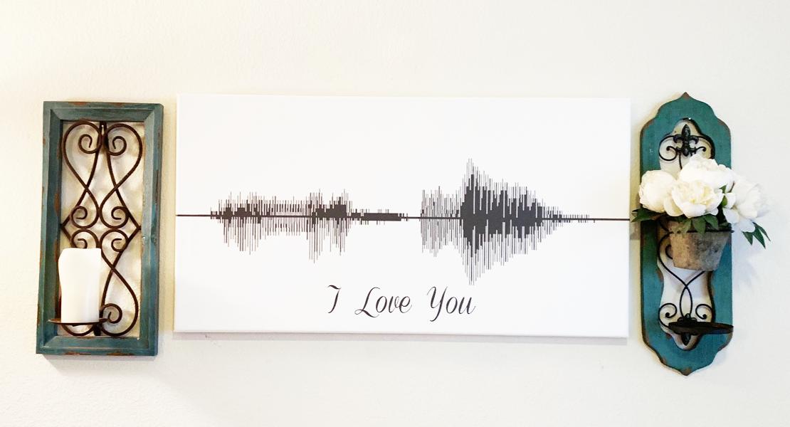 @puregoddessuniversity's cover photo for 'Sound Wave Art Review of Canvas Vows - Puregoddess University'