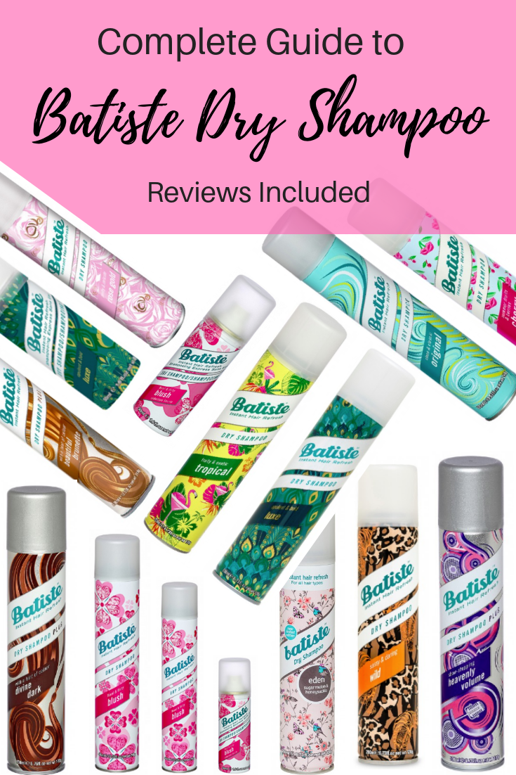 @fabulousandfunlife's cover photo for 'Complete Guide To Batiste Dry Shampoo Reviews Included - Fabulous and Fun Life'