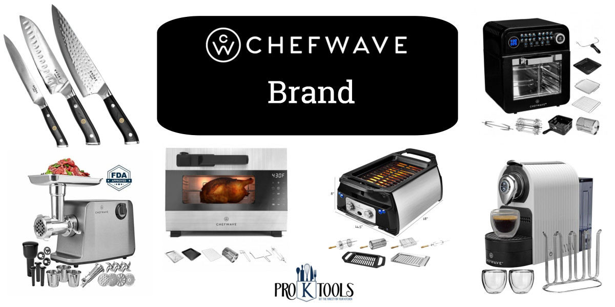 @proktools's cover photo for 'The Top ChefWave Brand Products - Pro K Tools'