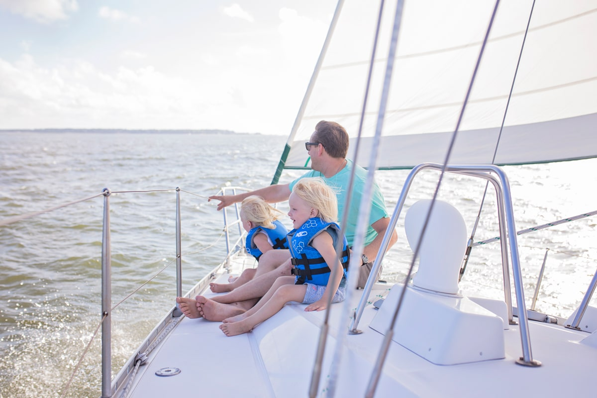 @faustisland's cover photo for 'The Benefits of Sailing With Your Family - Green Family Blog 2020'