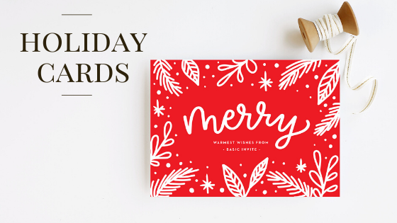@ildahobert's cover photo for 'Basic Invite - Holiday Cards - World of Modern Mom'