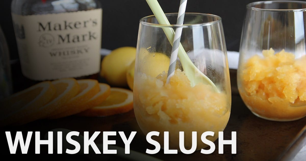 @slushiemachineguide's cover photo for 'Whiskey Slush Recipe | Our Secret Family Slushy Recipe'