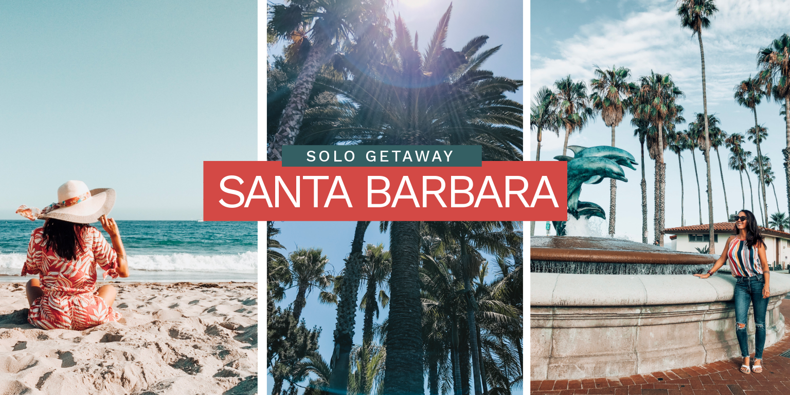 @jeanatravels's cover photo for 'The Perfect Solo Getaway to Santa Barbara'