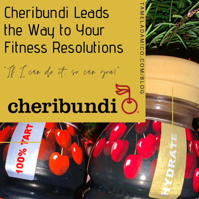 @tameladamico's cover photo for 'Cheribundi Leads the Way to Your Fitness Resolutions'