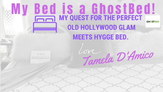 @tameladamico's cover photo for 'My bed is now a GHOSTBED!'