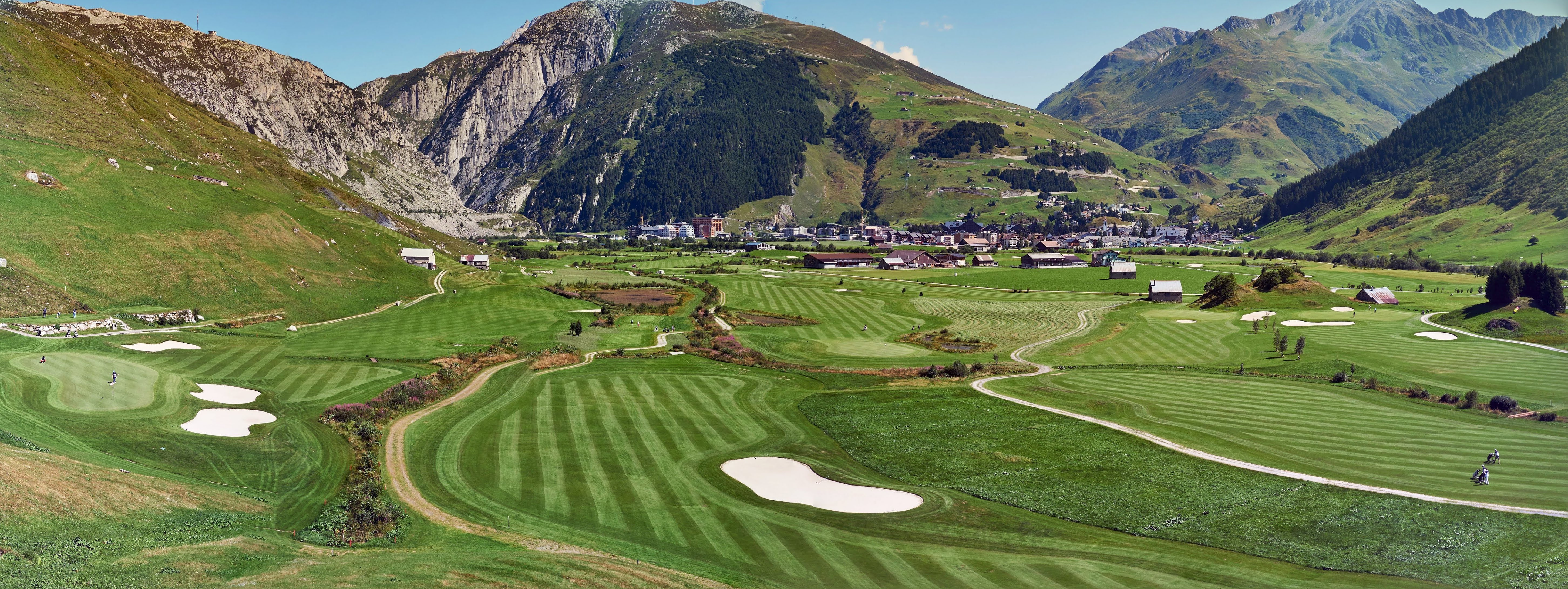 @flopic7's cover photo for 'Andermatt: Alpine Golf in the Swiss Alps ⋆ Leadingcourses.com'