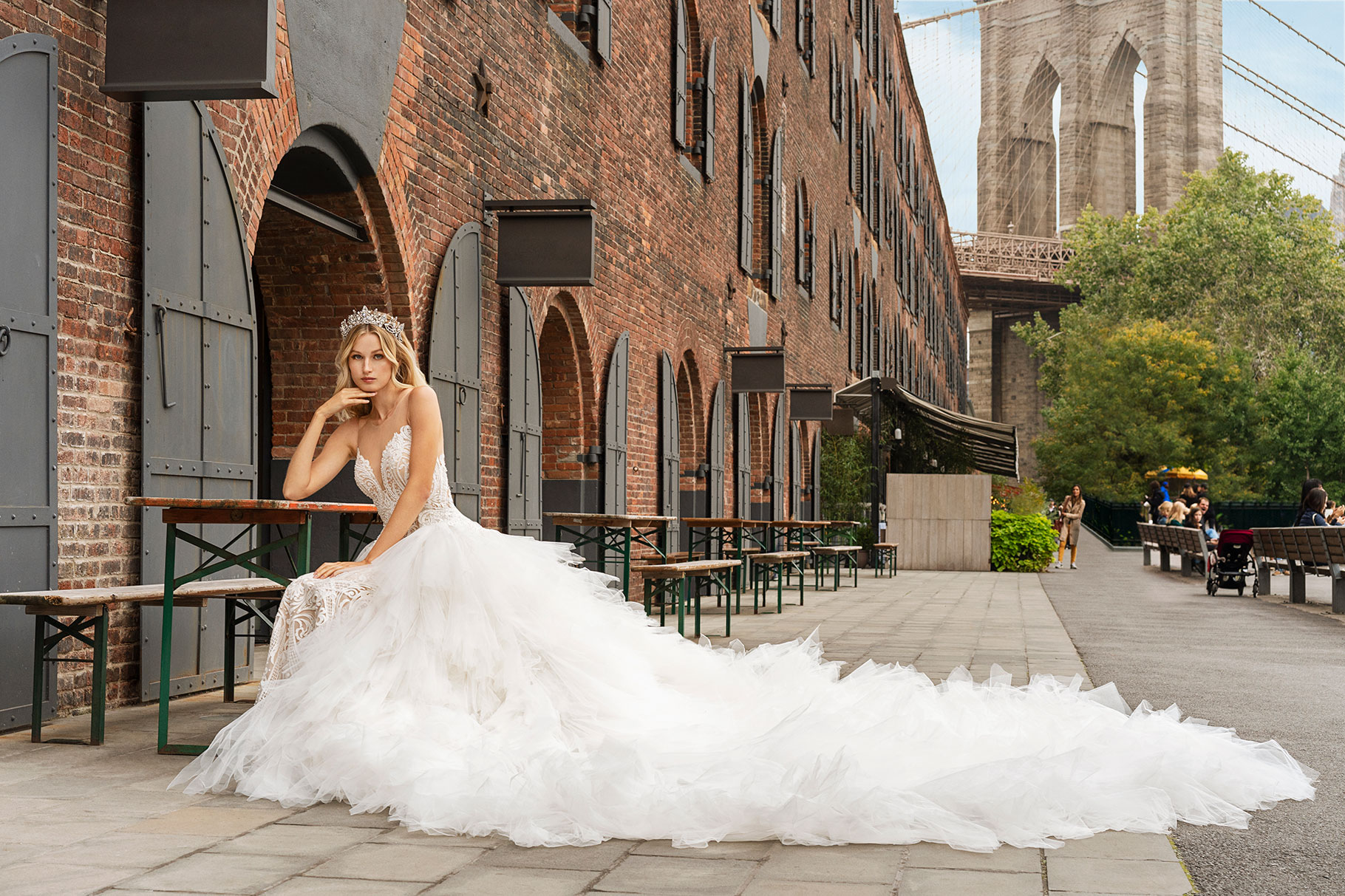 @strictlyweddings's cover photo for 'Demetrios Wedding Dresses Offer Strength in Details | Strictly Weddings'