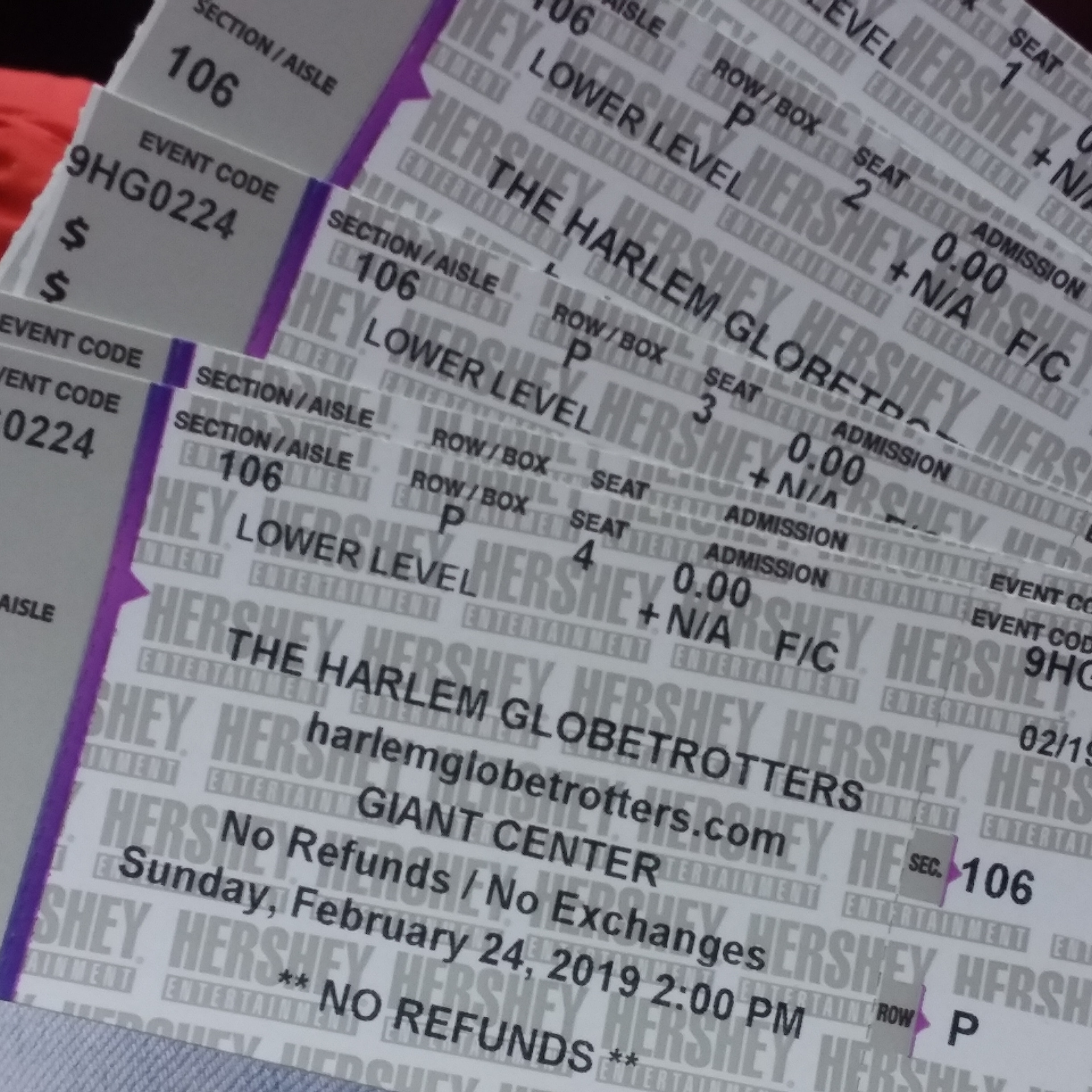 @phillycoupon_mom's cover photo for 'Harlem Globetrotters Review 2/24/19!'