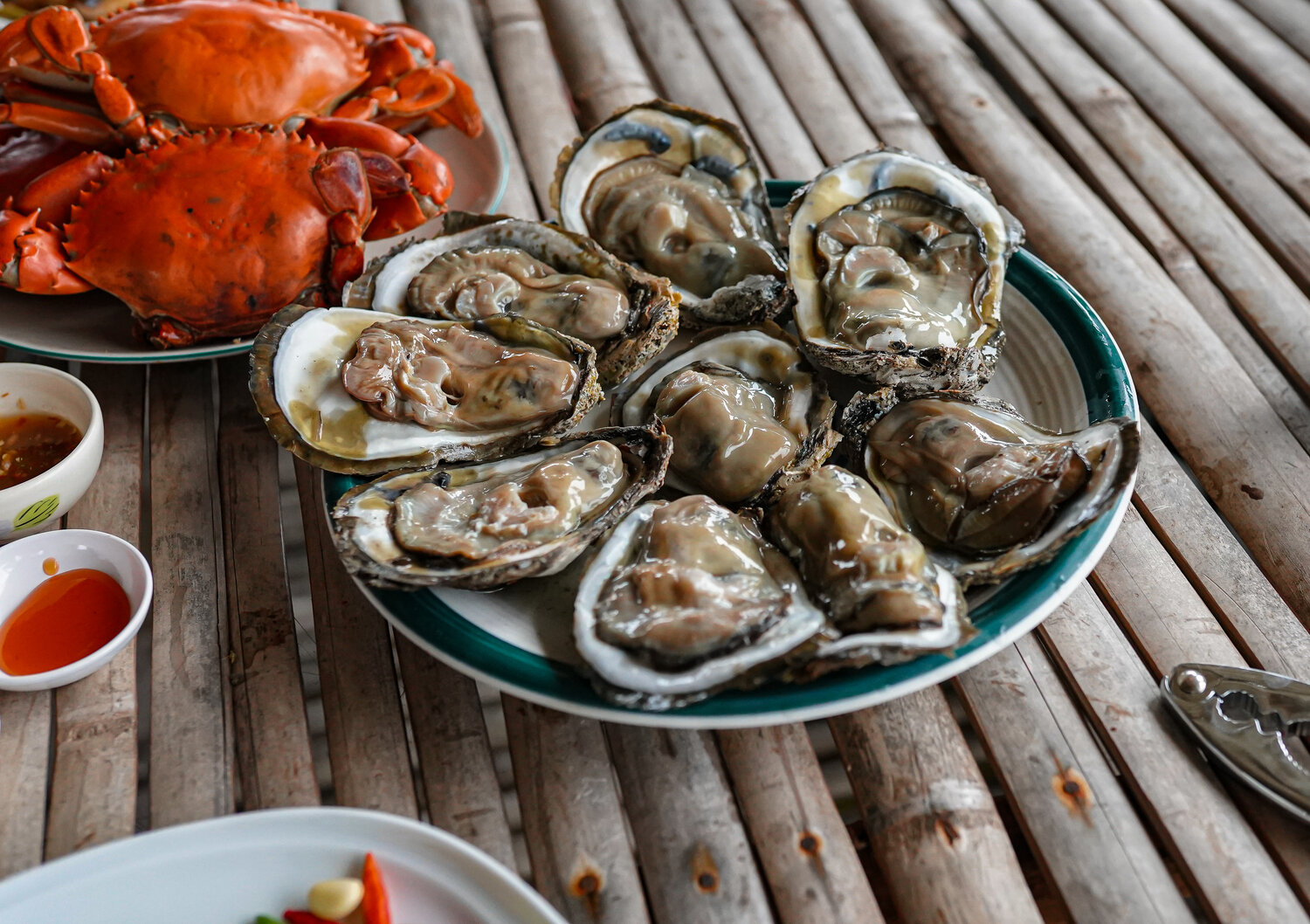 @theyumyumfoodie's cover photo for 'Thailand Off The Beaten Path at Tha Chalaep Oyster Farm. — The Yum Yum Foodie'