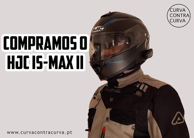 @blogcurvacontracurva's cover photo for 'Curva Contra Curva: Compramos o HJC IS-MAX II'