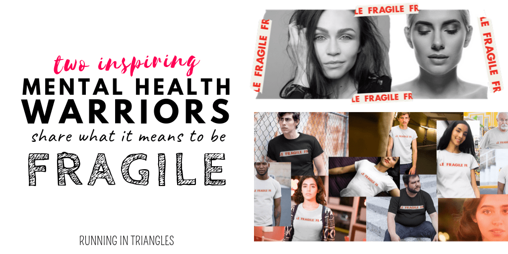 @running_in_triangles's cover photo for 'Two Mental Health Warriors Share What It Means To Be Fragile'