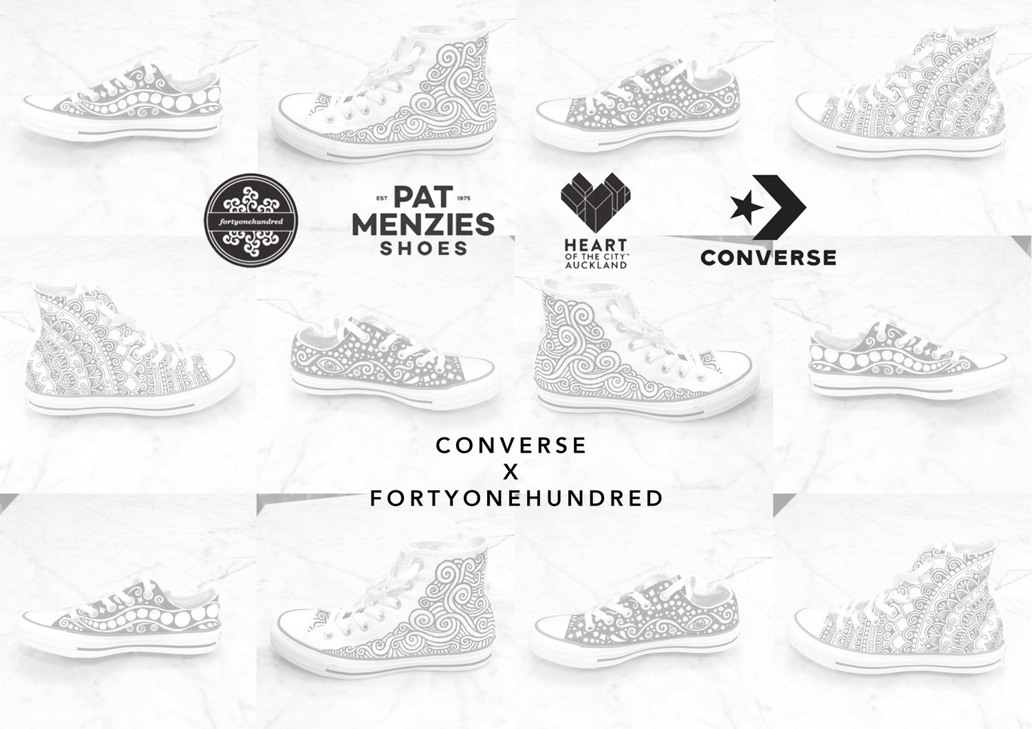 @fortyonehundred's cover photo for 'Converse Collaboration — fortyonehundred'