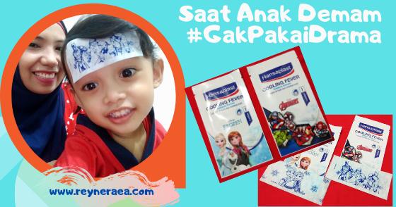 @reyneraea's cover photo for 'Mengatasi Anak Panas Demam Gak Pake Drama'