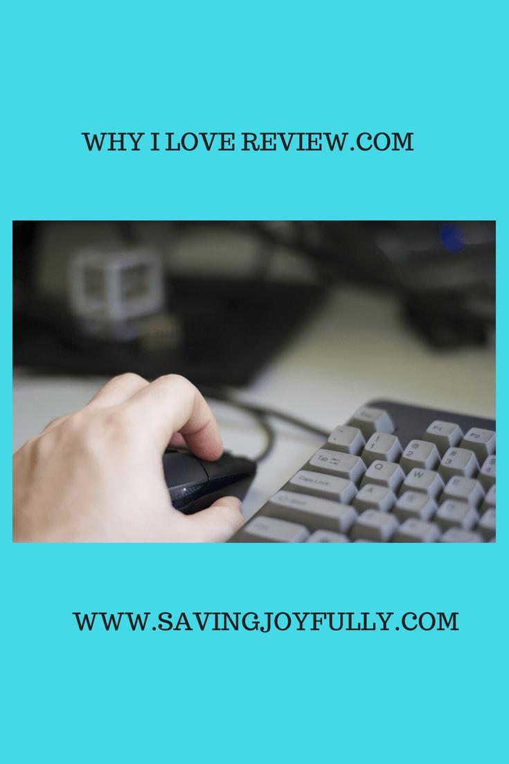 @savingjoyfully's cover photo for 'WHY I LOVE REVIEWS.COM - Saving Joyfully'