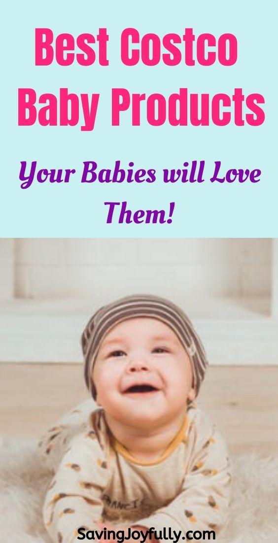 @savingjoyfully's cover photo for 'BEST BABY ITEMS TO BUY AT COSTCO - Saving Joyfully'