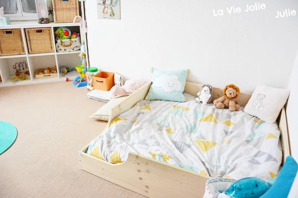 @laviejolie_julie's cover photo for 'Lit au sol pour bébé #3 : retour d'expérience'