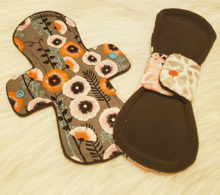 @bearhavenmama's cover photo for 'Pink Lemonade Shop Reusable Cloth Menstrual Pads Review'