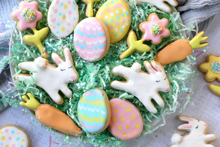 @onbetterliving's cover photo for 'These No-Sugar Sugar Cookies Will Have You Celebrating Spring'