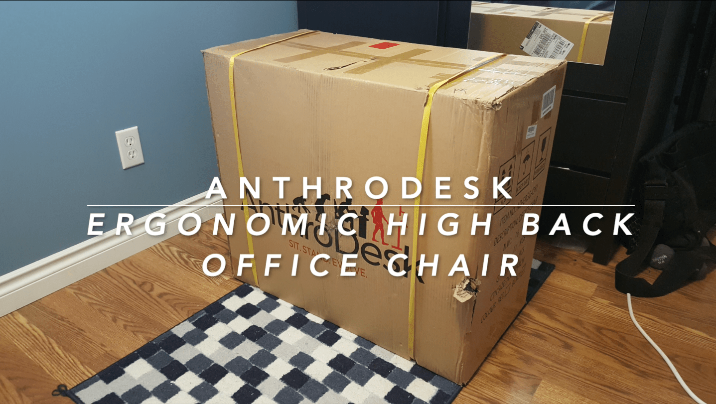 @briansloanart's cover photo for 'Anthrodesk Ergonomic High-Back Office Chair Review - Brian Sloan Artist'