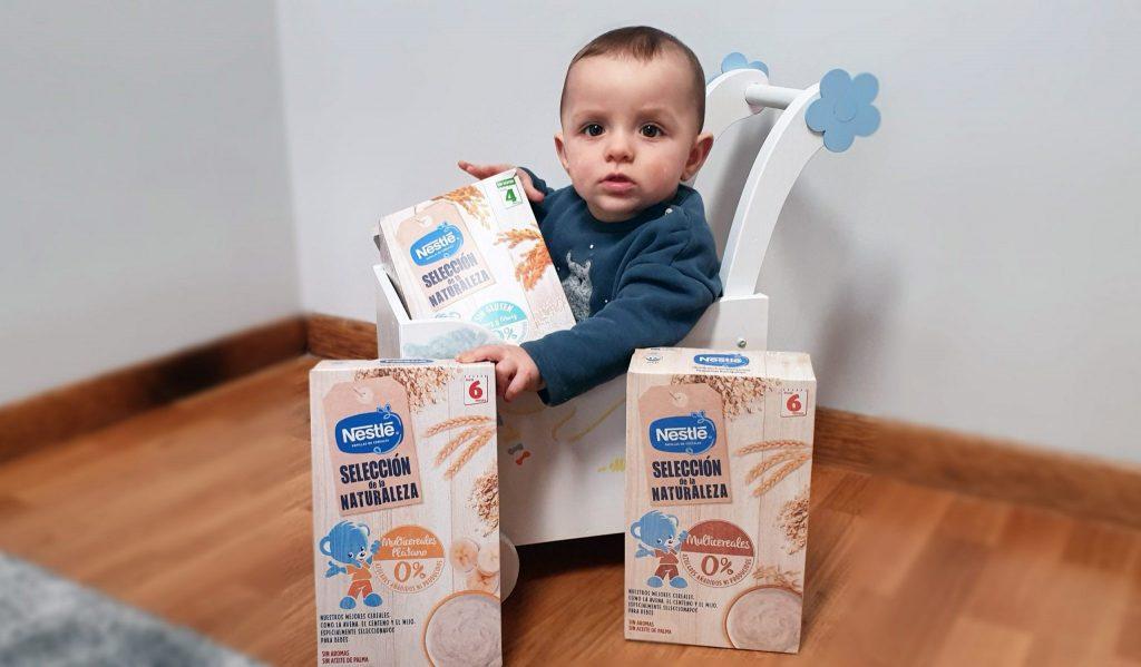 @buscando_tu_embarazo's cover photo for 'Cereales Selección de la Naturaleza de Nestle | Bebés y Niños | El Blog De Mamá'