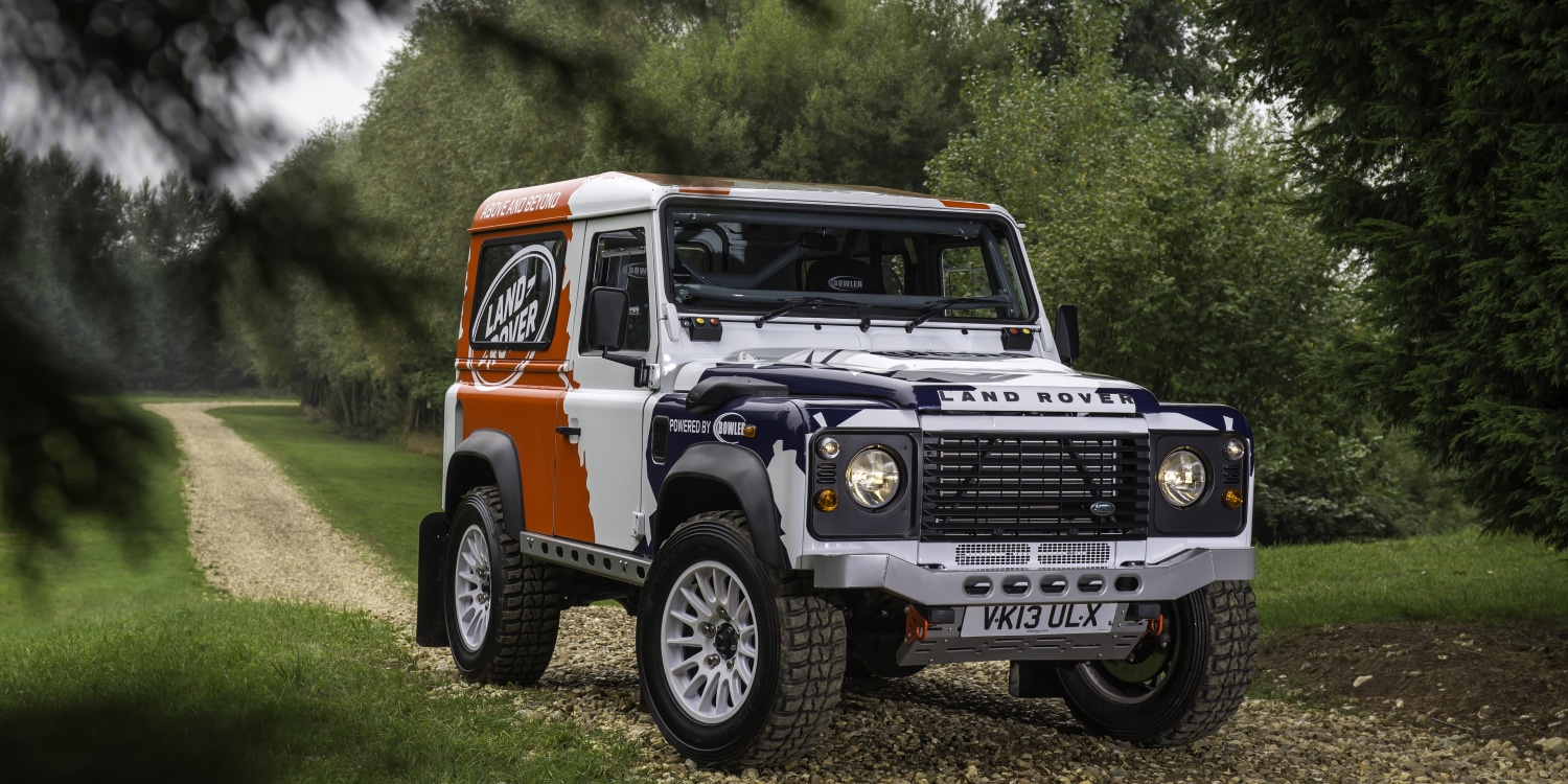 @evlear's cover photo for 'Land Rover acquires Bowler'