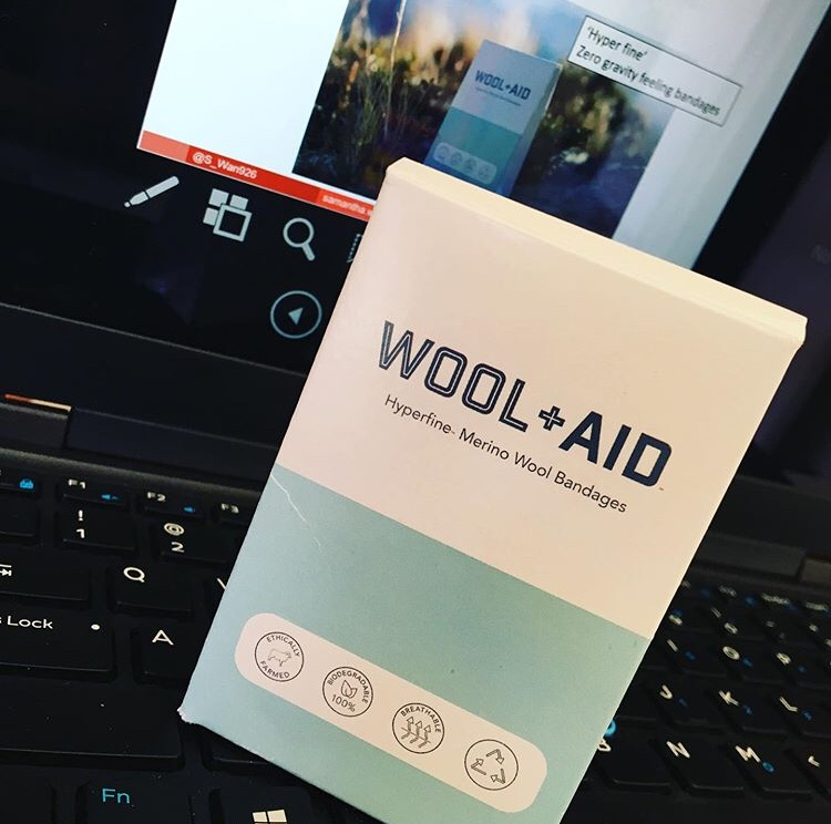@s_wan926's cover photo for 'Wool+Aid | Merino Wool Bandage'