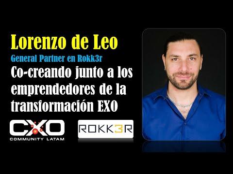 @schmitzoscar's cover photo for '#Entrevista a Lorenzo de Leo (Rokk3r): Co-creando junto a los emprendedores de la transformación exponencial'