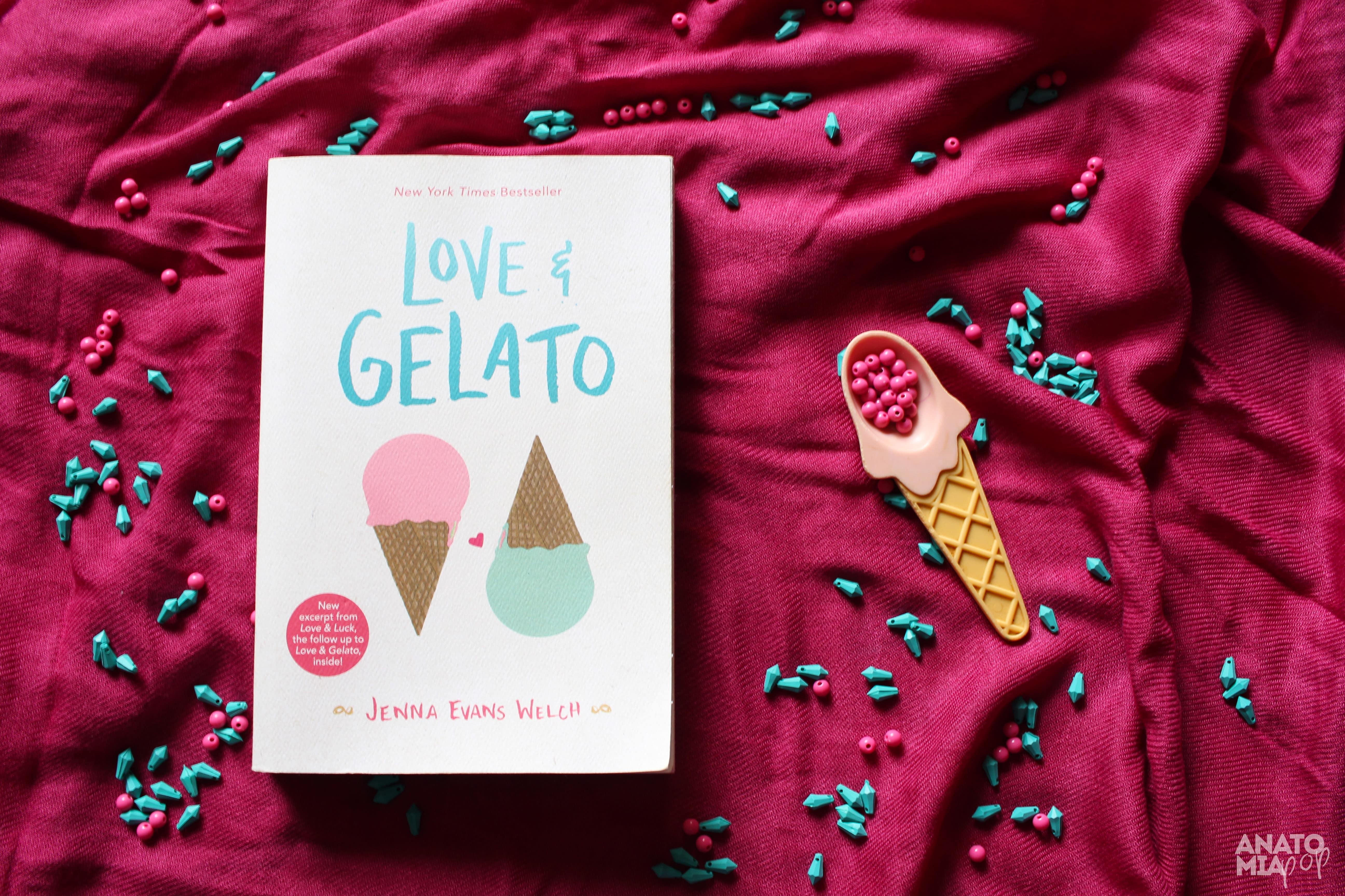 @anatomiapop's cover photo for 'Love & Gelato   Uma hitória de amores em Florença   Anatomia Pop'