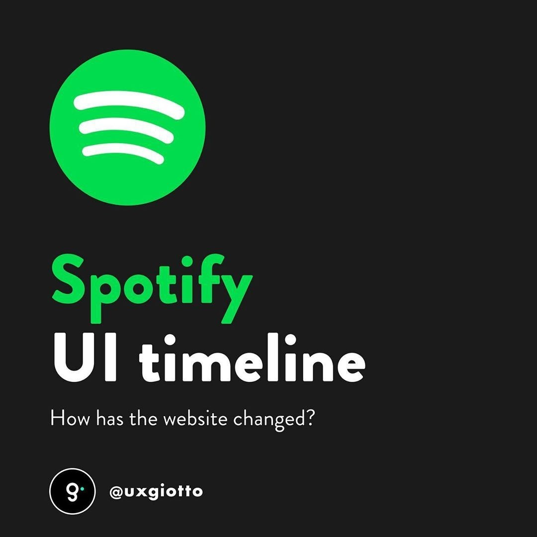 @hellotegra's cover photo for 'Spotify UI Timeline - Tegra - We create brands people love'