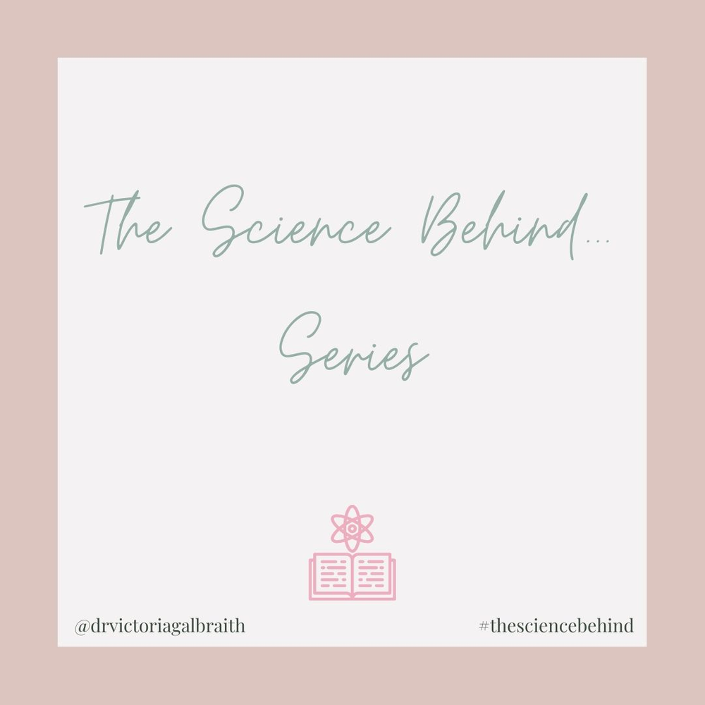 @drvictoriagalbraith's cover photo for 'The Science Behind...'