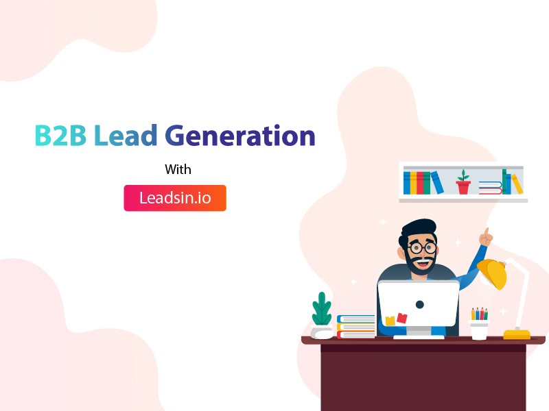 @theluckygupta's cover photo for 'B2B Lead Generation'