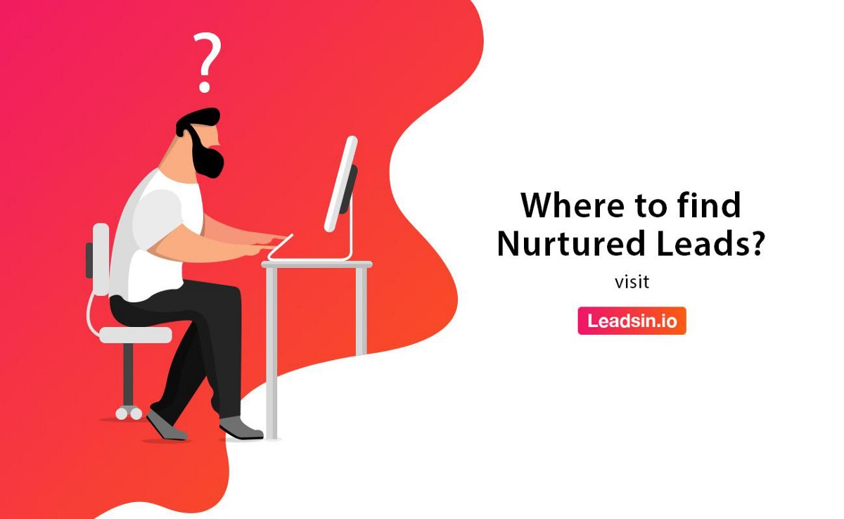 @theluckygupta's cover photo for 'Where to find nurtured leads?'