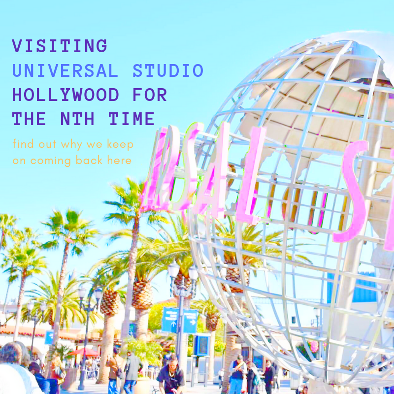 @awmyposh's cover photo for 'VISITING UNIVERSAL STUDIOS HOLLYWOOD FOR THE NTH TIME • AW my Posh!'