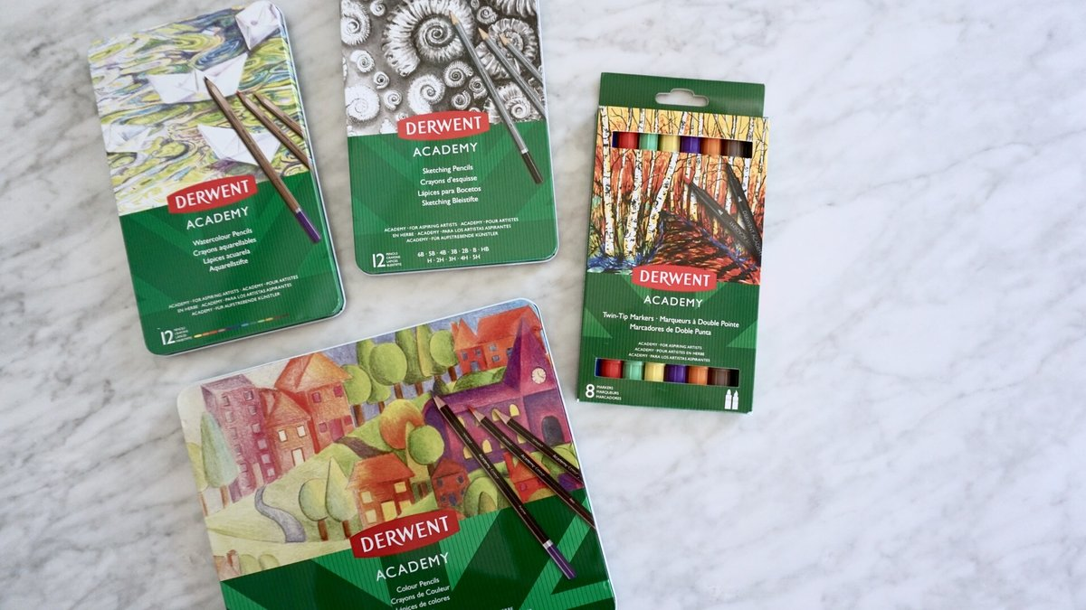 @kimposed's cover photo for 'Product Review: Derwent Academy Art Supplies'