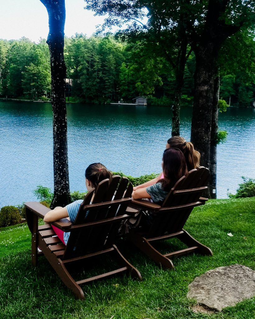 @dinnerwiththeduffys's cover photo for 'Lake Toxaway Spring Trip - Dinner with the Duffys'