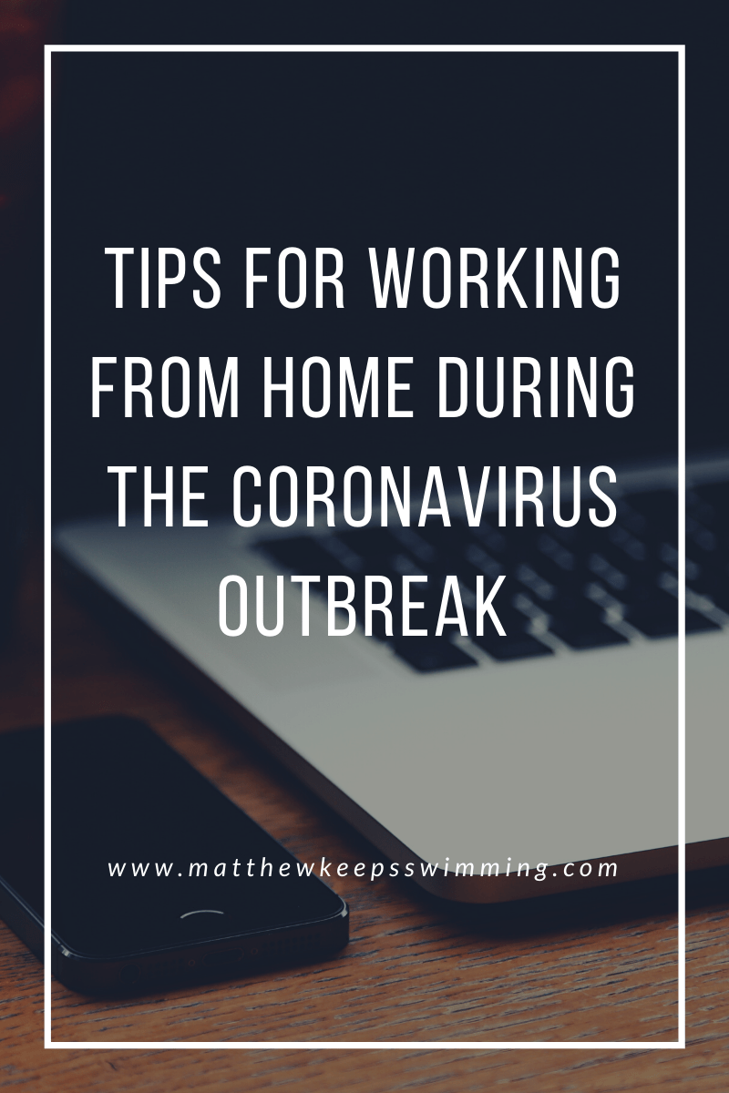 @mjsmith0523's cover photo for 'Tips for working from home during the Coronavirus outbreak'
