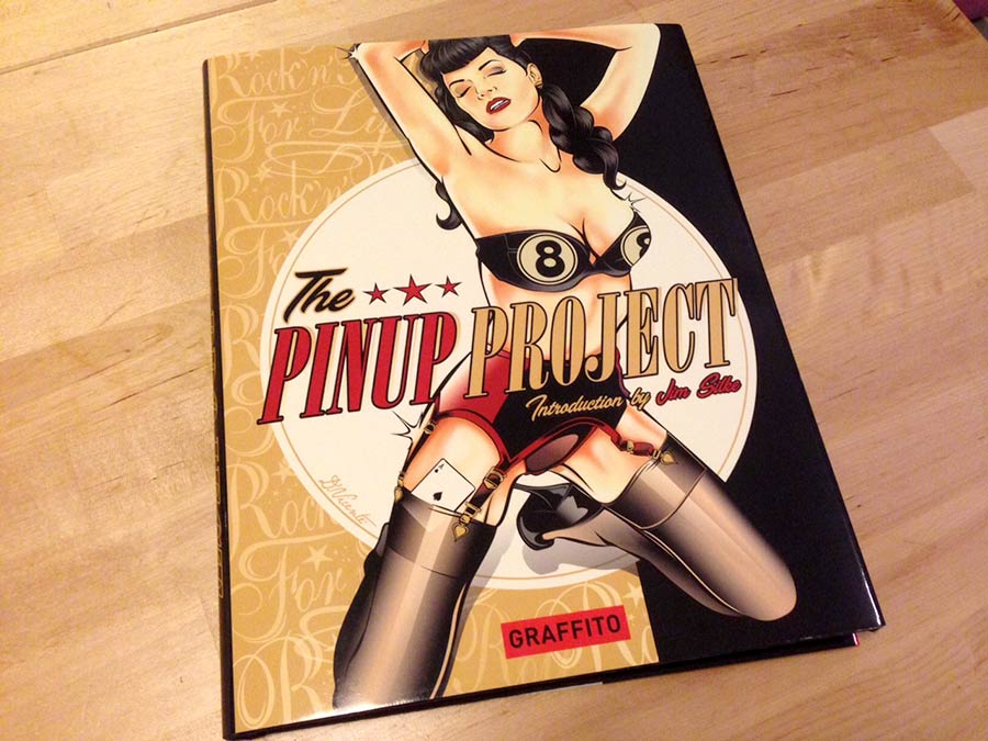 @digitalgirlies's cover photo for 'New Book! The Pinup Project by Graffito Books'