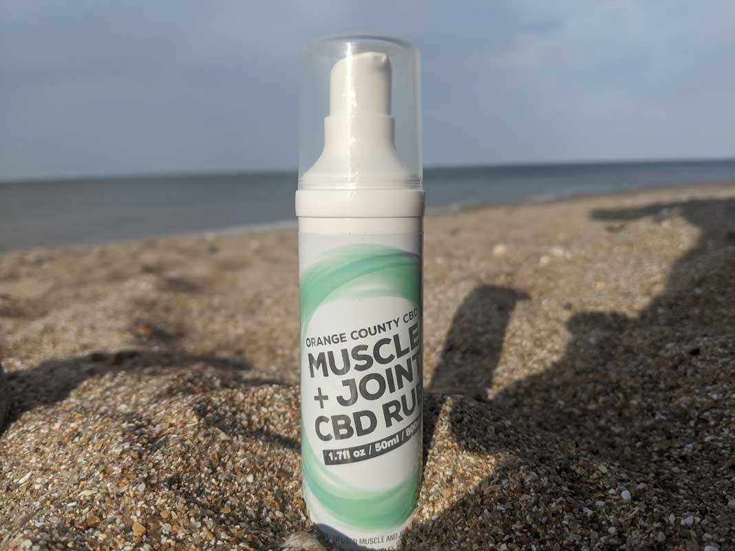 @cbdslothreal's cover photo for 'Orange County CBD Muscle & Joint Gel Review - My CBD Oil Blog'