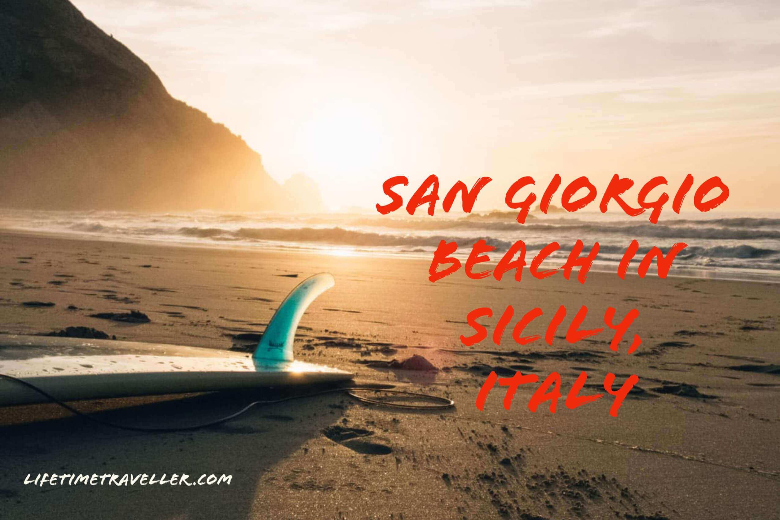 @mrjericurbayo's cover photo for 'San Giorgio Beach in Sicily, Italy - Lifetime Traveller'
