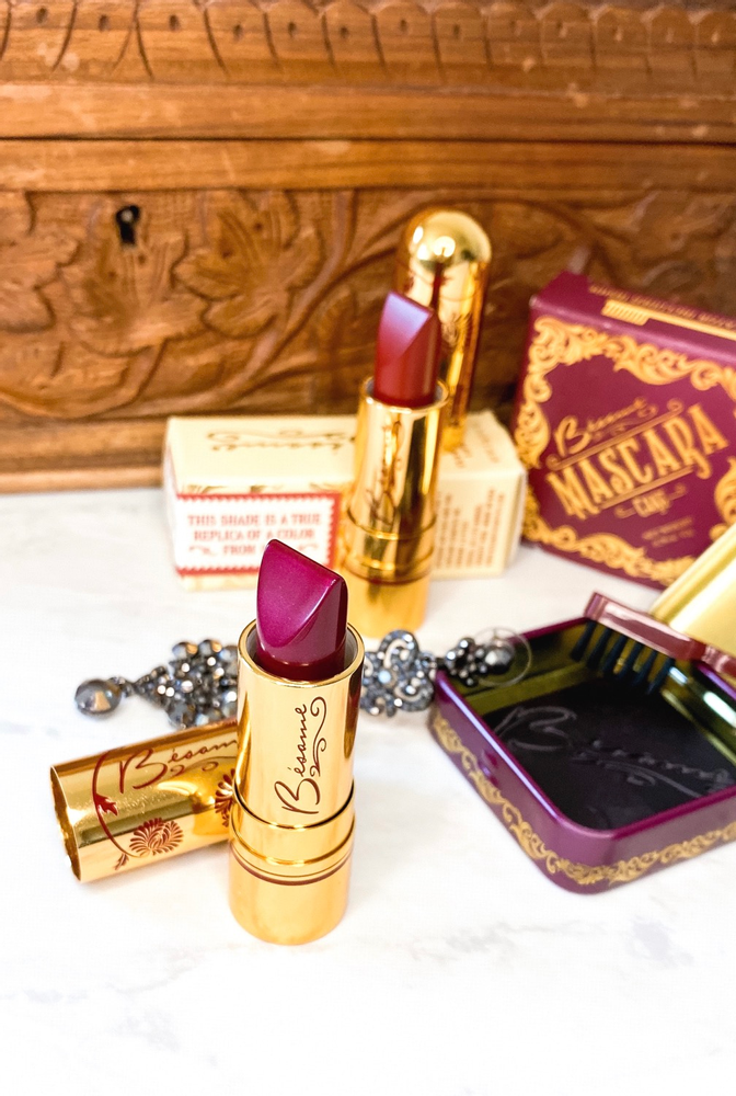 @business.of.beauty's cover photo for 'Besame Cosmetics makeup mascara vintage lipsticks'