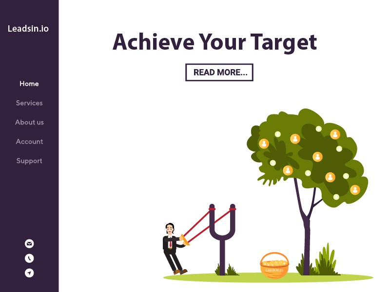@theluckygupta's cover photo for 'Achieve your target with leads'