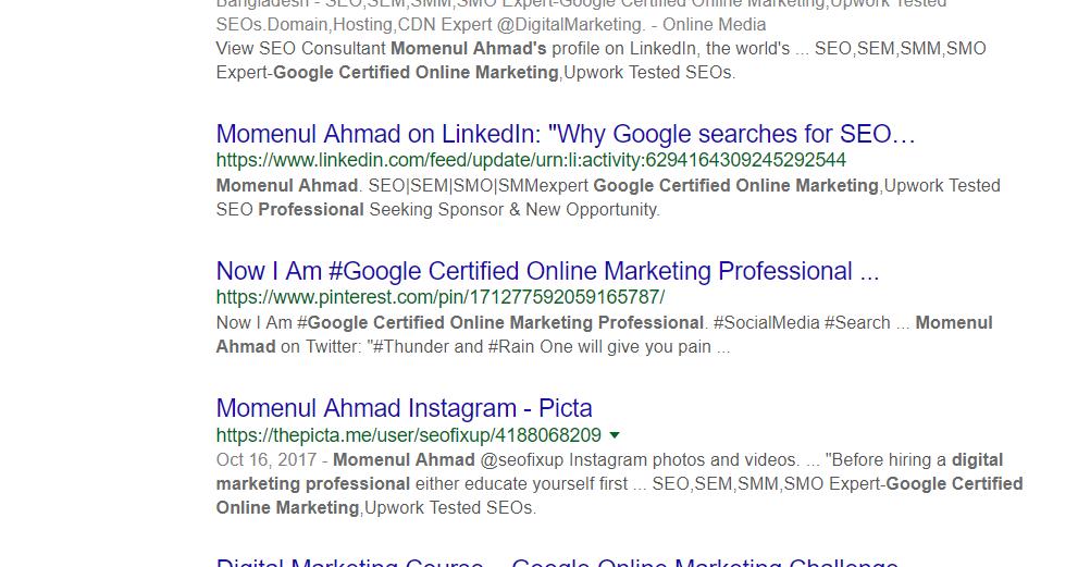 @momenulahmad's cover photo for 'As a SEOs (SEO),Webmaster,Web Devs and Online Marketing(Digital Marketing) Professional Momenul Ahmad'