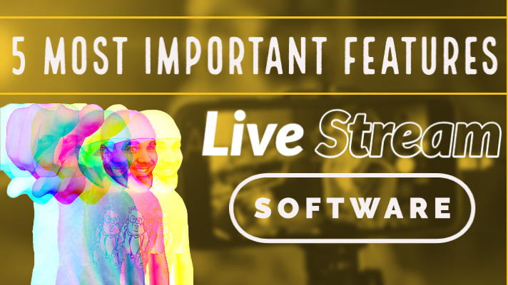 @isocialfanz's cover photo for 'The 5 Most Important Live Streaming Software Features in 2020   Virtual Keynote Speaker Brian Fanzo'
