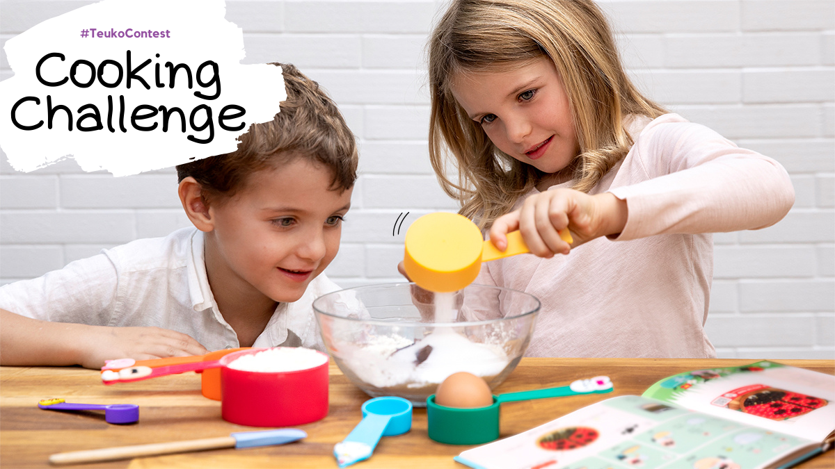 @teukoapp's cover photo for 'Cooking Challenge | CookAnd Play As A Family'